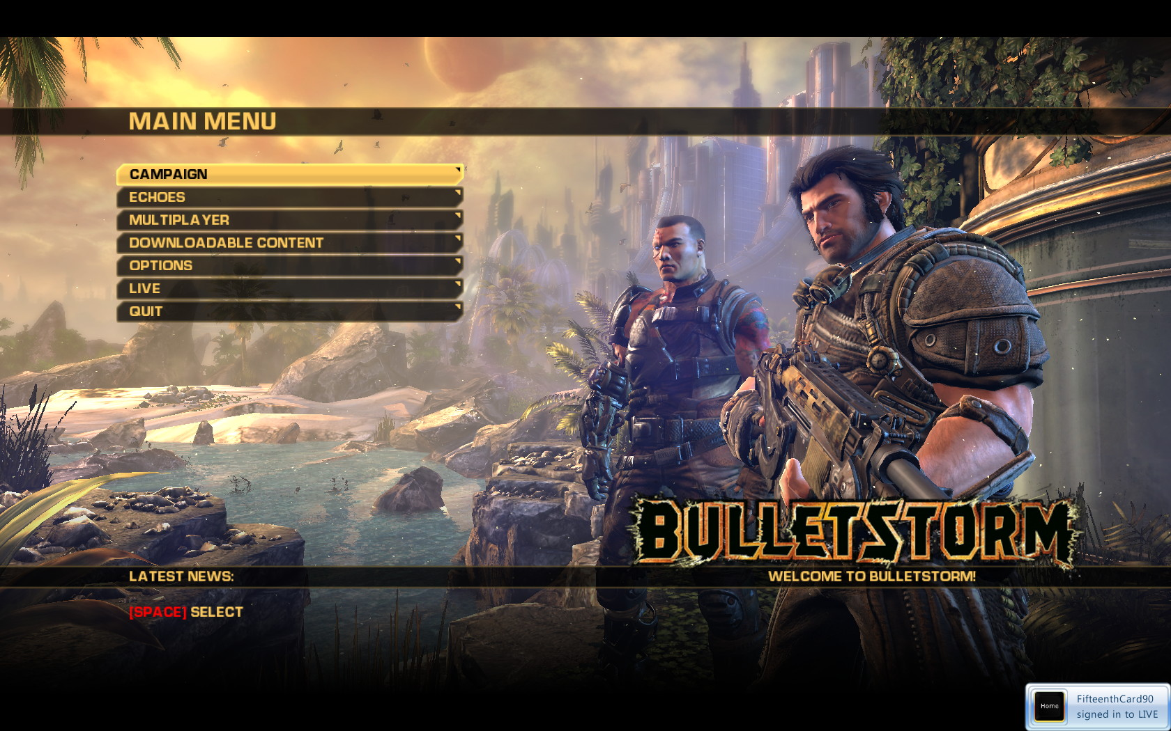 Tweaking Bulletstorm For Pc Living With Technology